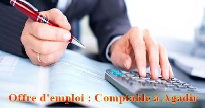 Offre d'emploi : Comptable à Agadir