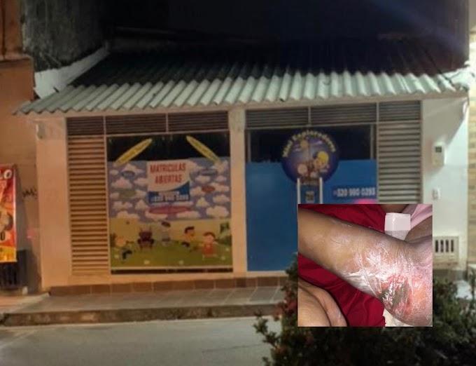 Mujer asegura que le entregaron a su hija con quemaduras en un jardín infantil de Villavicencio
