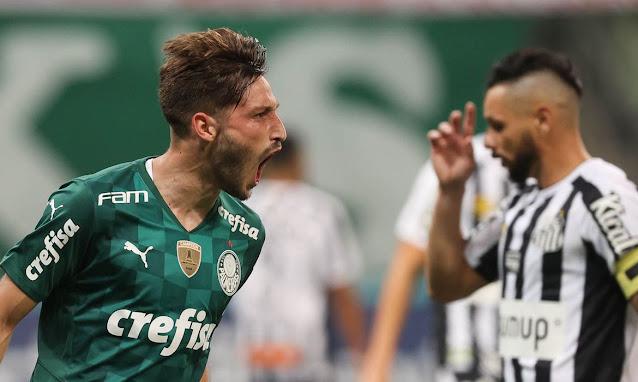 Palmeiras vence Santos