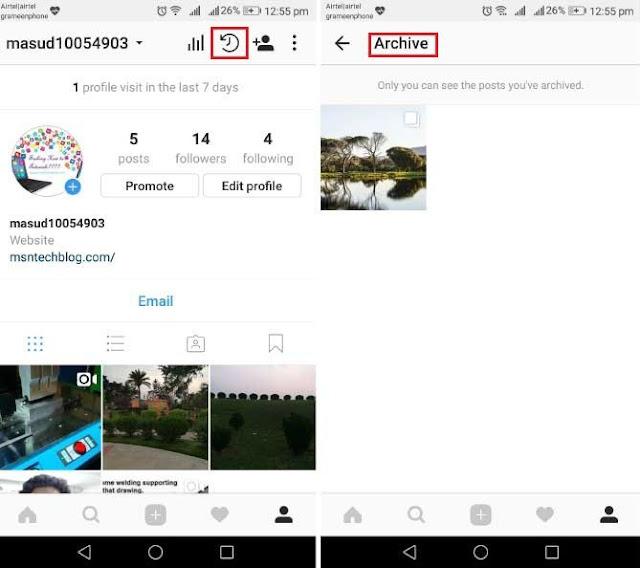 Cara Menyembunyikan Foto di Instagram Tanpa Menghapus 3