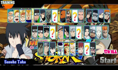 Naruto Senki Mod Unlimited money Hardcore Id v2.0 Apk