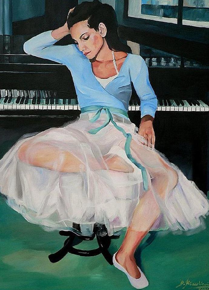 Damian Klaczkiewicz. Современный польский художник 21