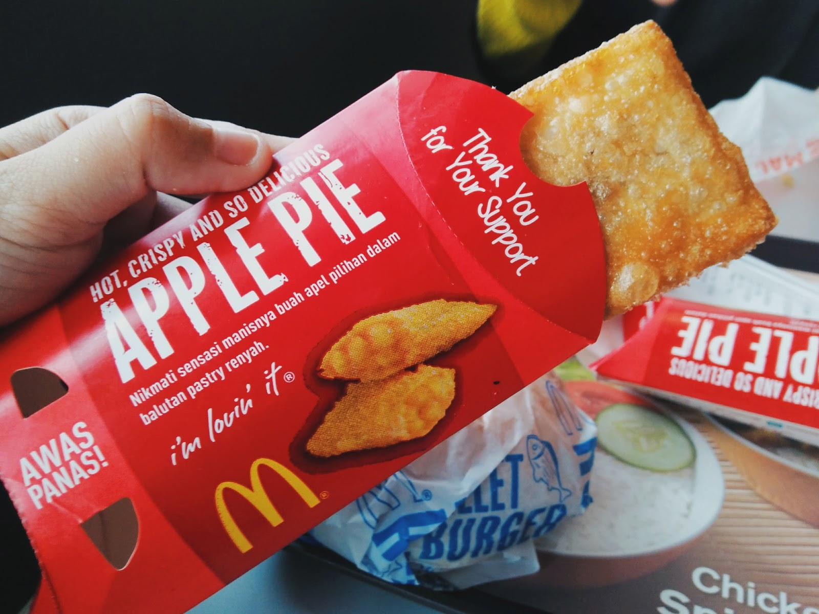 Apple Pie Mcdonald's Indonesia - Mcdonald's Indonesia Apple Pie