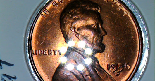 1956 D Wheat Error Penny (D Over D or Shadow D Maybe Repunch)