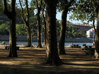 praia fluvial no Douro