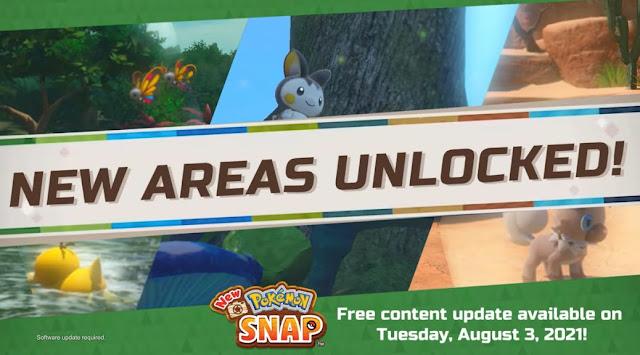New Pokémon Snap receberá atualização gratuita em agosto