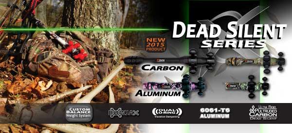 Les Stabilisations Dead Center Archery - La gamme Diamond Series Hunting