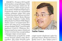 Premier Oil Continues Tuna Block Development