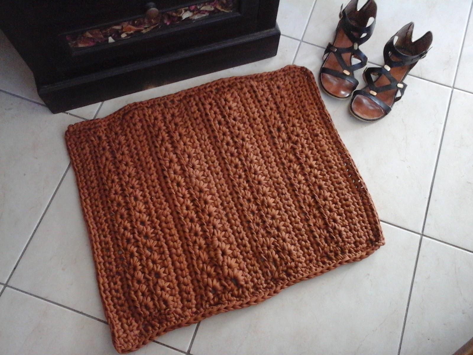 Tapis Original Pour Salle De Bain ~ zetwal katrer tapis de salle de bain au crochet