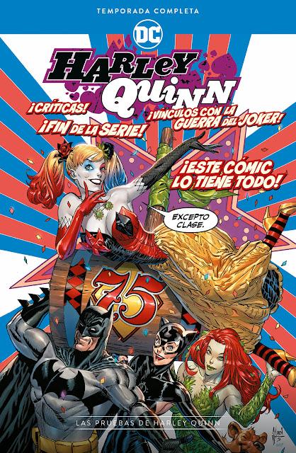 Review del cómic Harley Quinn: Temporada completa – Las pruebas de Harley Quinn - ECC Ediciones