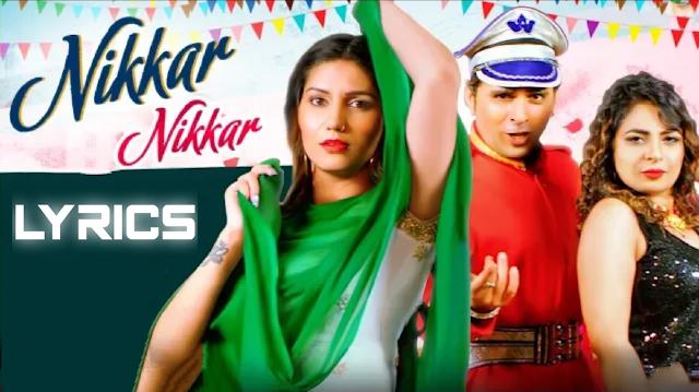 nikkar nikkar song sapna choudhary lyrics- by- LyricsBEAT