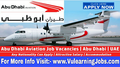 Abu Dhabi Aviation (ADA) Jobs 2019 For Latest Jobs In Middle East