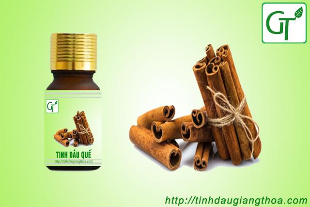 Tinh dầu quế (Cinnamon Oil) được chiết suất từ Vỏ, cành và lá quế thơm