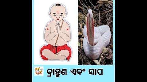 ବ୍ରାହ୍ମଣ ଏବଂ ସାପ || Brahmin & Snake || Odia Kids Story | Odia Story 2