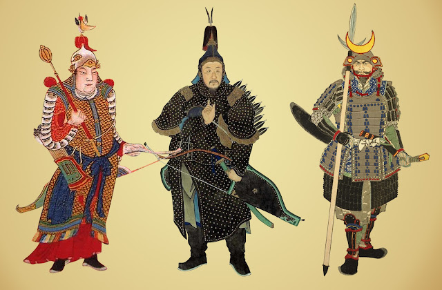 Ming Qing Japanese Armour Glossaries