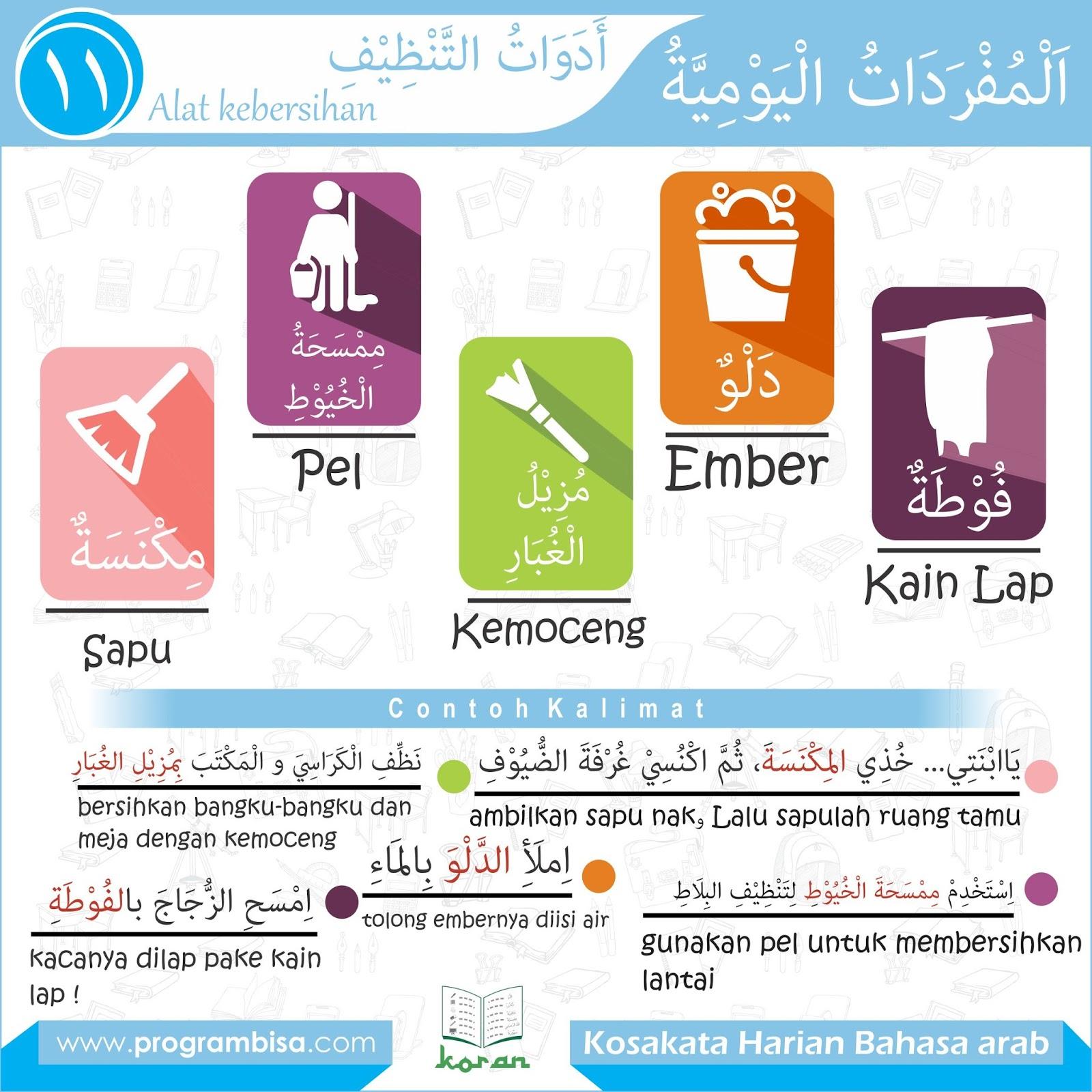 Terbaru 17 Alat Dapur Bahasa Arab