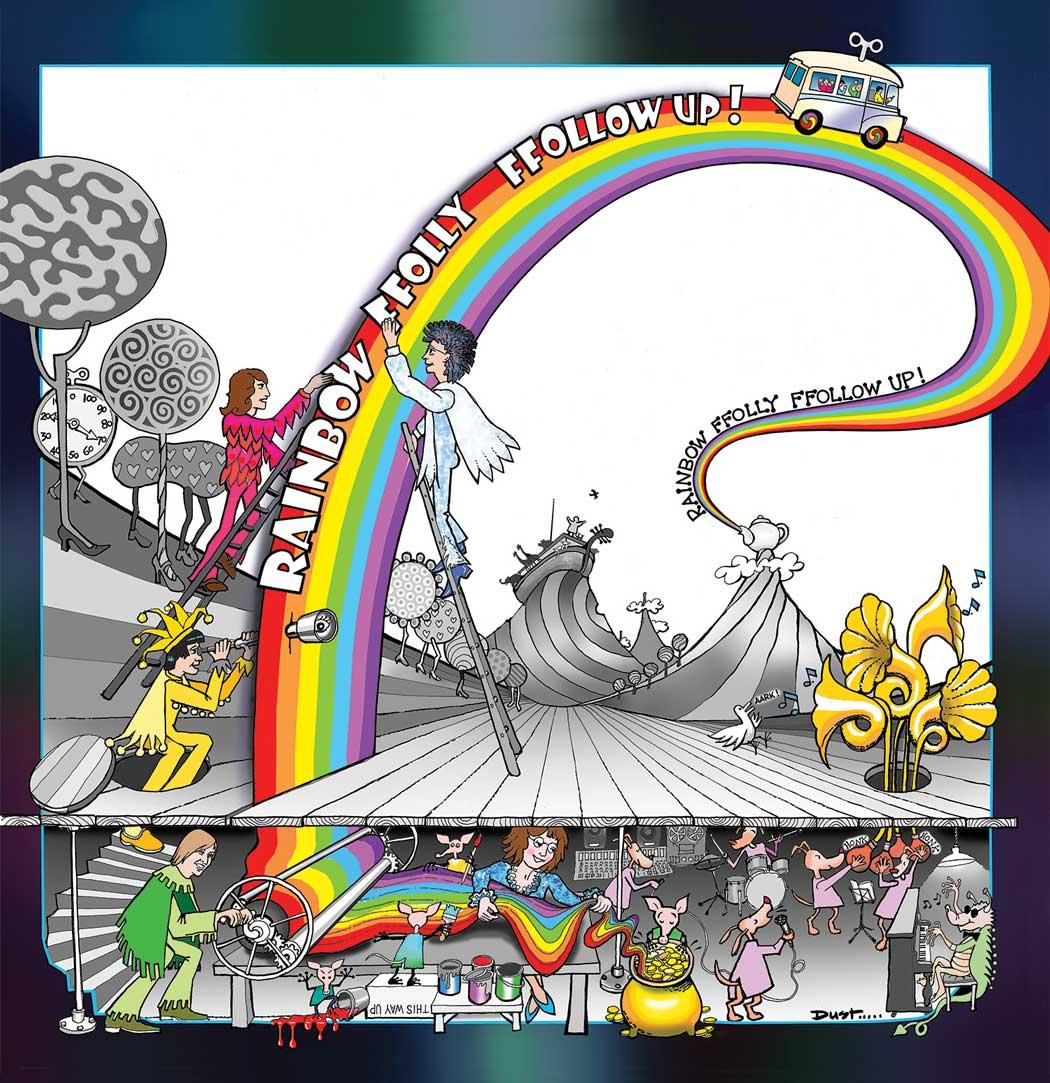 "Rainbow Ffolly - ""Spectromorphic Iridescence: The Complete"