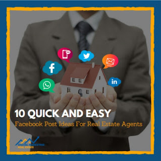 Facebook post ideas for estate agents