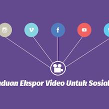 Panduan Ekspor Video Untuk Sosial Media di Adobe Premiere Pro