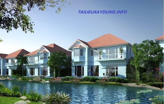 Hồ sơ thiết kế Villa khu đô thị sinh thái Giang Điền