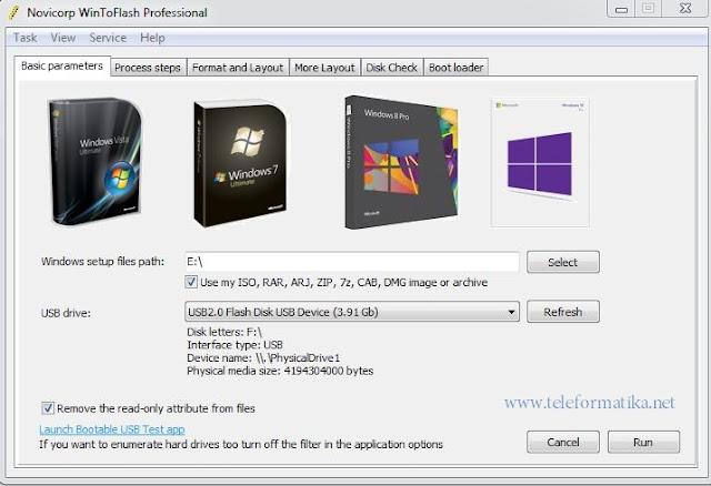 Cara Mengcopy/ Menyalin File Bootable Windows dari CD/ DVD ke Flashdisk