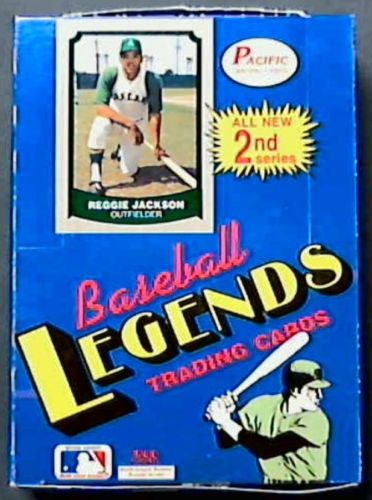 Collecting The 1980s 1988 1990 Pacific Legends