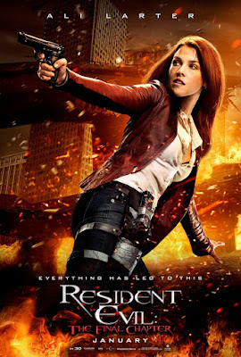 Resident Evil: The Final Chapter Ali Larter Poster