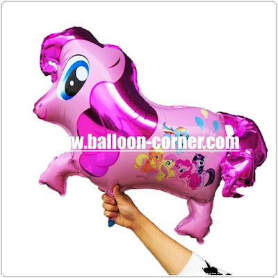 Balon Foil Karakter Little Pony (NEW DESIGN)
