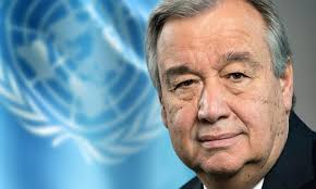 The purpose of the visit is to thank the Pakistanis, Antonio Guterres