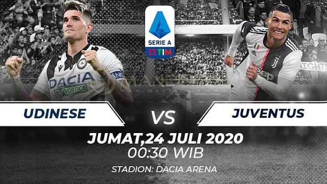 Prediksi Udinese Vs Juventus, Jumat 24 Juli 2020 Pukul 00.30 WIB @ RCTI