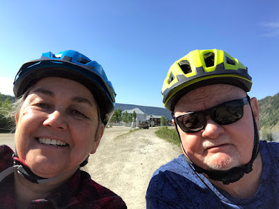 Bike Helmets are Mandatory in Dawson City
