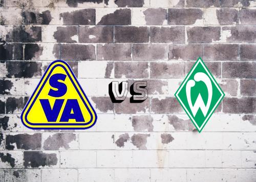 Atlas Delmenhorst vs Werder Bremen  Resumen