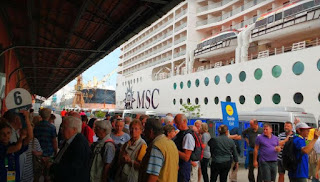Navios movimentam 21 mil turistas nesta semana no Pier Mauá-RJ