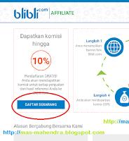 Cara Daftar Affiliate Blibli.com terbaru September 2016