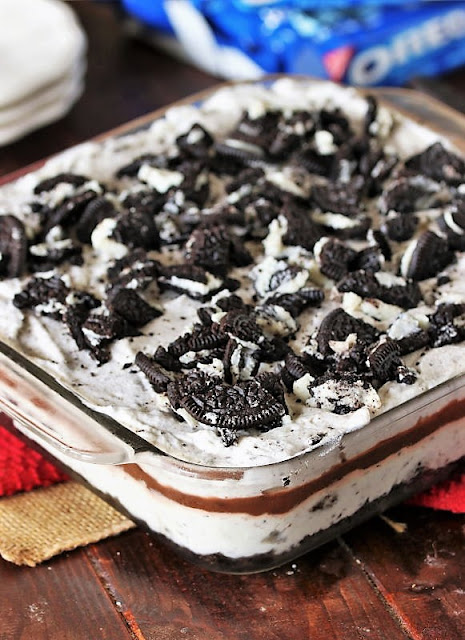 Oreo Yum Yum with Crushed Oreo Topping Image