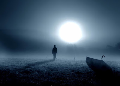 alone boy in moonlight dp and cover image for facebook and whatsapp