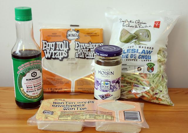 Egg roll ingredients