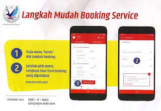 Cara Booking Service Di Brompit