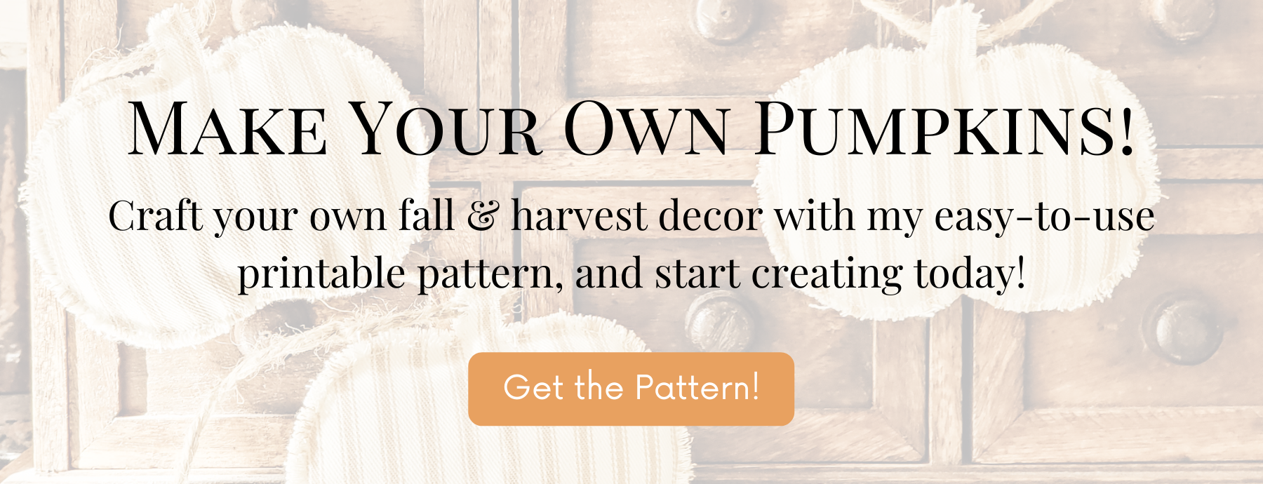 Click to download the printable pumpkin pattern