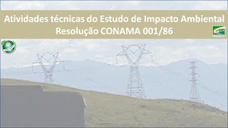 Atividades Técnicas do Estudo de Impacto Ambiental e Diretrizes do EIA
