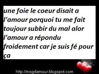 citation, mot d'amour et proverbe en image