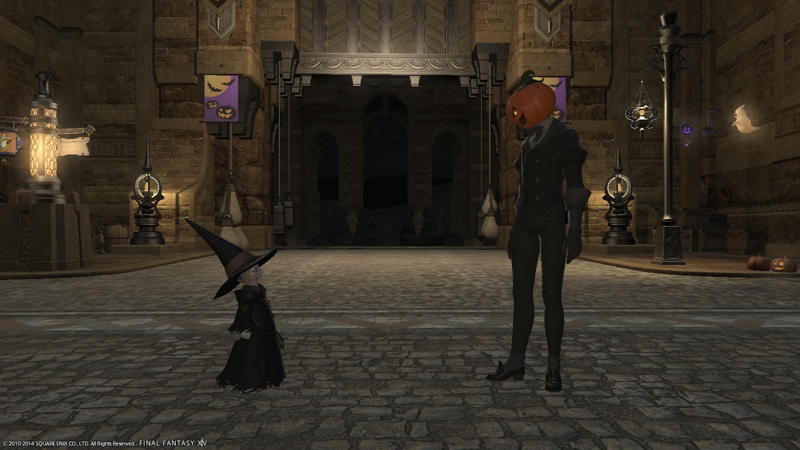 The Bishi Watch: Final Fantasy XIV Halloween - All Saints Wake 2014