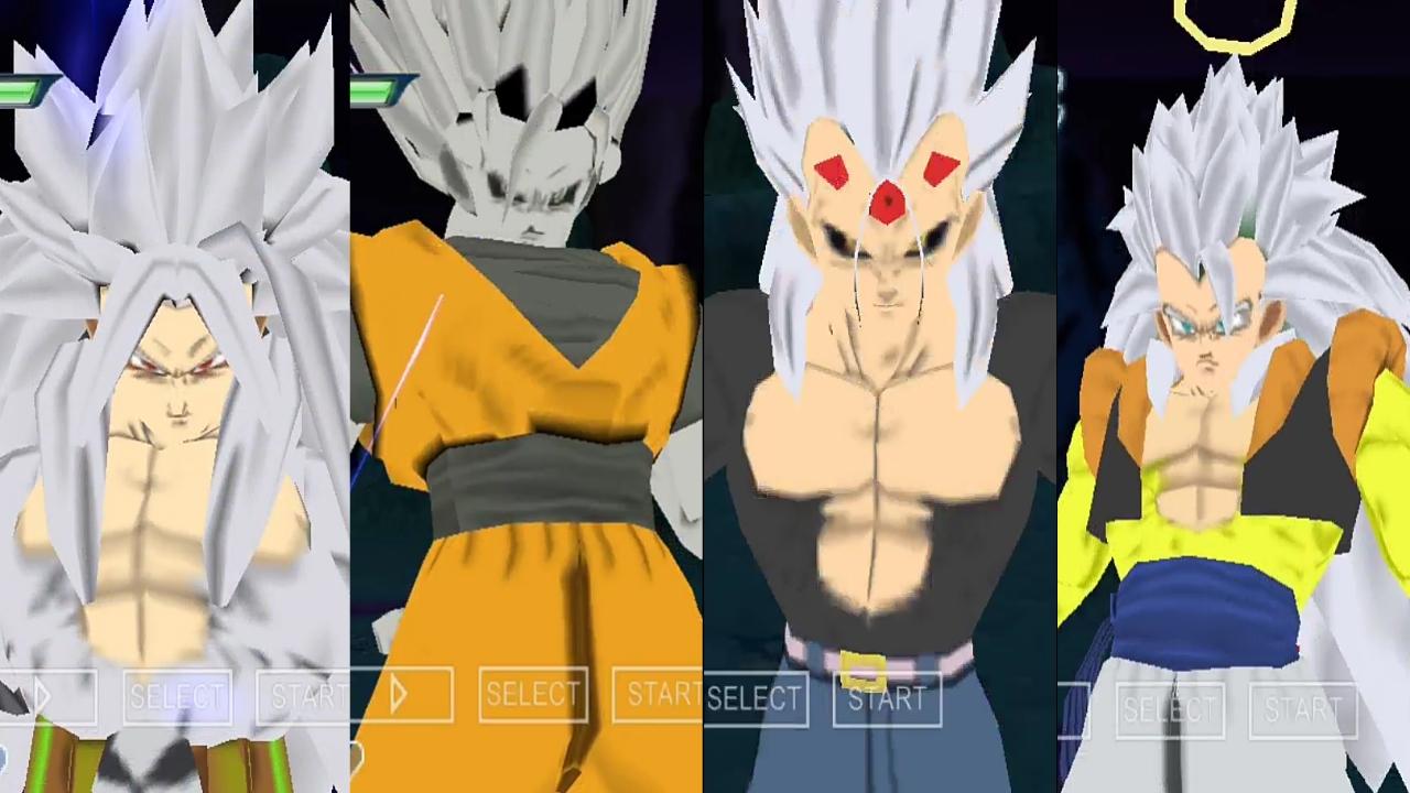 Dragon Ball AF Goku and Vegeta