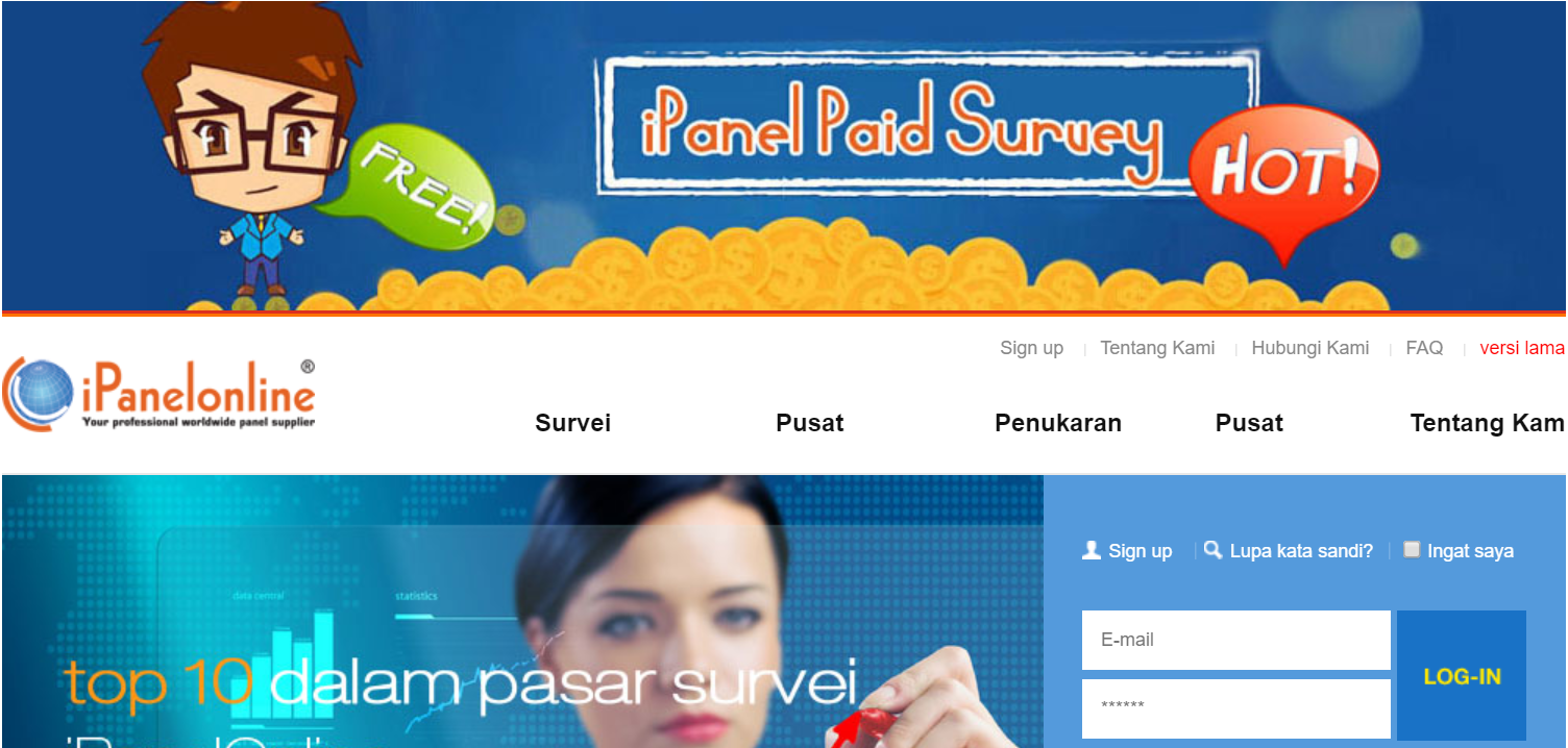 survey online indonesia