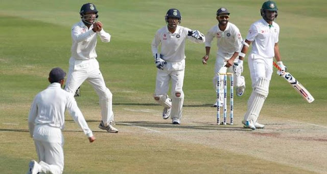 "19th Unbeaten and 13th test win for Team ""INDIA"" since last Year!!!"
