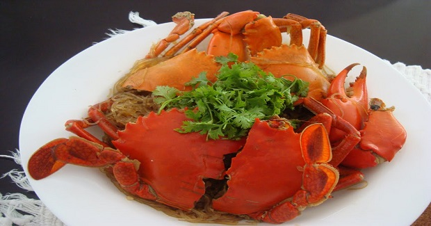 Crabs With Sotanghon (Vermicelli Noodles) Recipe