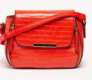Francesca Rossi - Дамска червена Чанта
