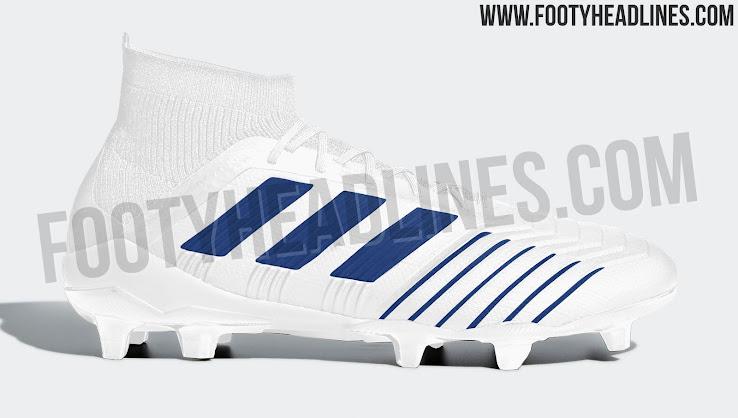 fc5f5df7e30f Classy White   Blue Next-Gen Adidas Predator 2019 Boots Leaked ...