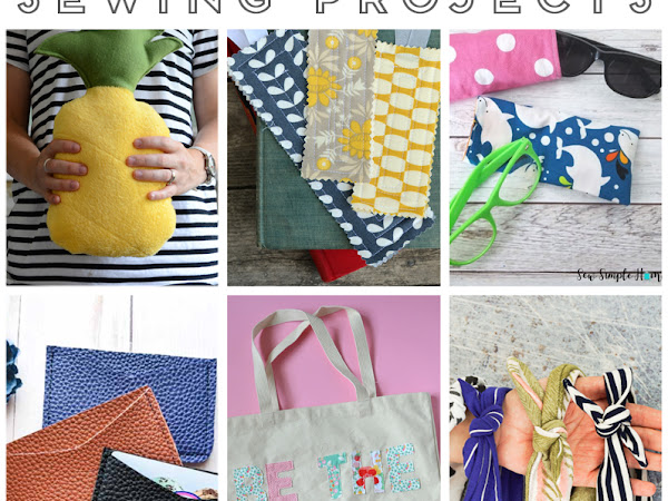 20+ Quick and Easy Sewing Projects for the Beginner Sewist