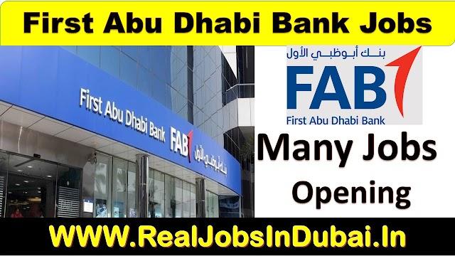 FAB Bank Careers New Vacancies | Bank Jobs In Dubai |